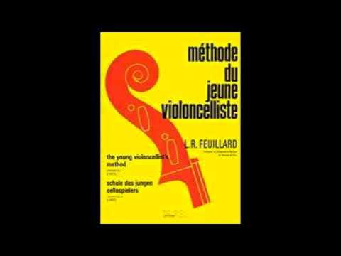 Lesson 16, Study by Romberg - Méthode du Jeune Violoncelliste KARAOKE (90 BPM, 440 tuning)