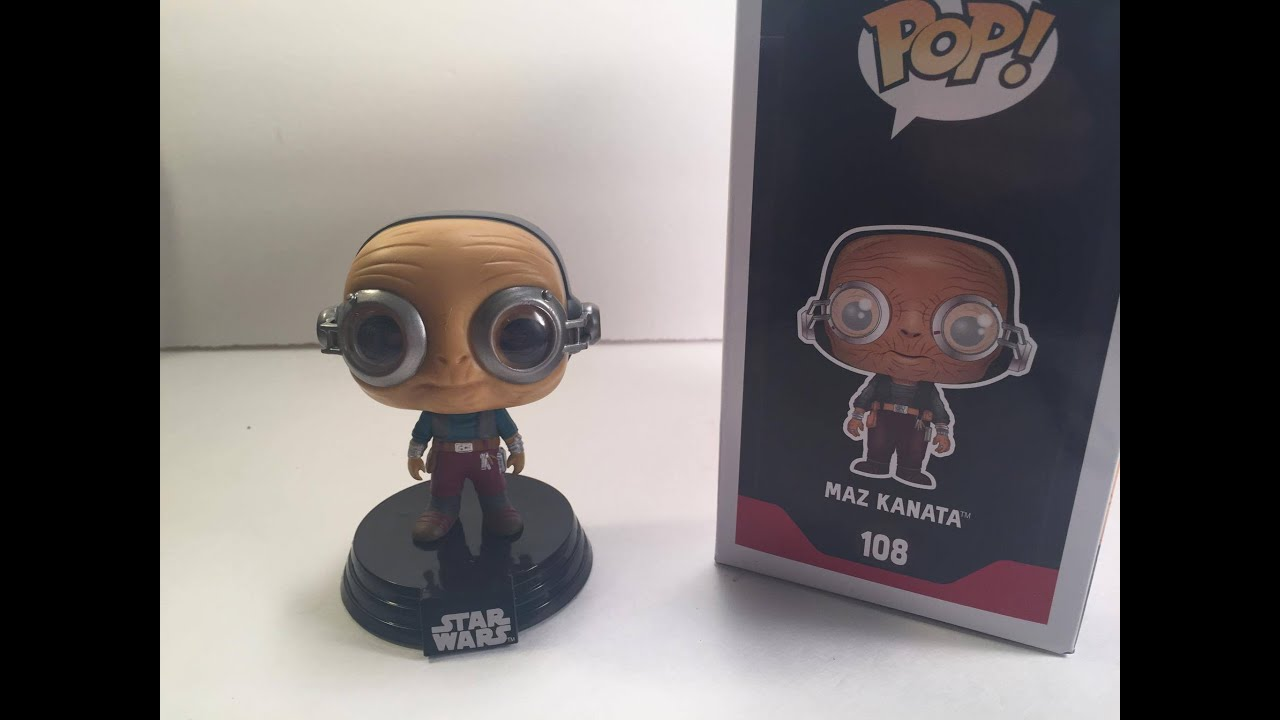 Vinyl Figure Star Wars #108 Episode VII Funko Maz Kanata Pop