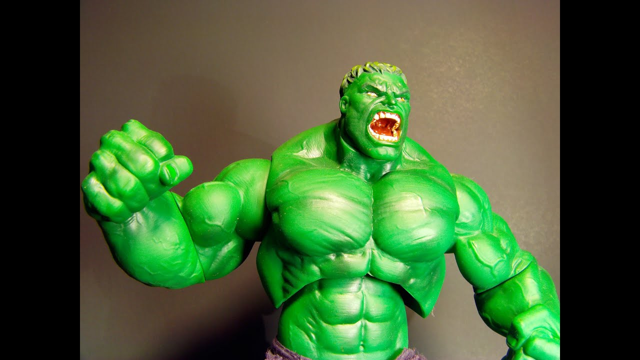 2003 raging hulk by toybiz 13 inch action figure movie toy review