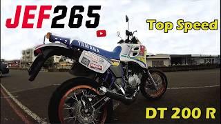 JEF265 | Yamaha DT200R - Toop Speed no rolê