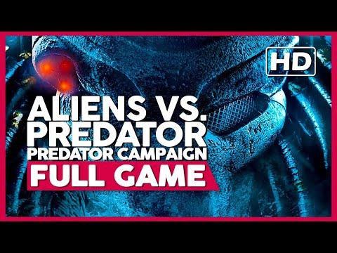 Aliens Vs. Predator [Predator Campaign] (PC 60FPS) | Full Gameplay/Playthrough | No Commentary