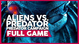 Aliens Vs. Predator (Predator Campaign) | PC 60ᶠᵖˢ | Full Gameplay/Playthrough | No Commentary