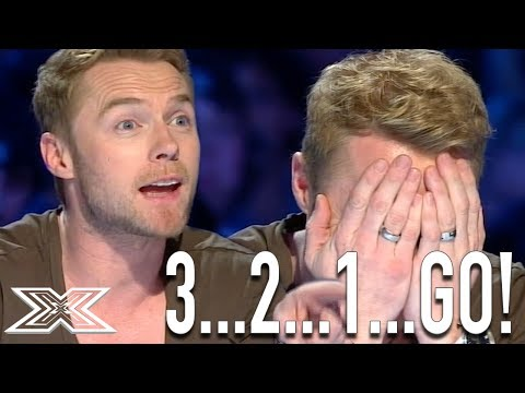 Ronan Keating Helps Contestant Sing