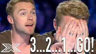 "Ronan Keating Helps Contestant Sing ""When You Say Nothing At All""....."