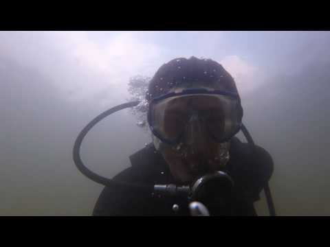 Some clips diving hartwell lake