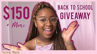 (CLOSED) $150 BACK TO SCHOOL GIVEAWAY + FREE Custom Planner!! (CLOSED)