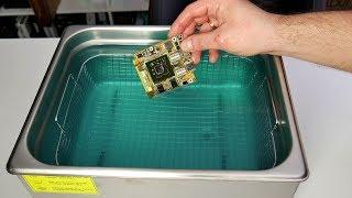 Myjka ultradźwiękowa w seriwsie PC w praktyce