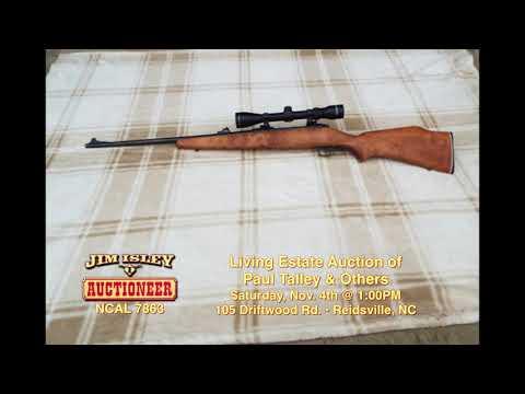 Jim Isley Personal Property Auction Nov 4th HD Re Edit