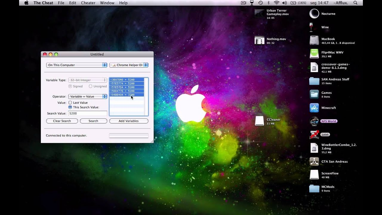 Tutorial: How to use The Cheat (MAC) 