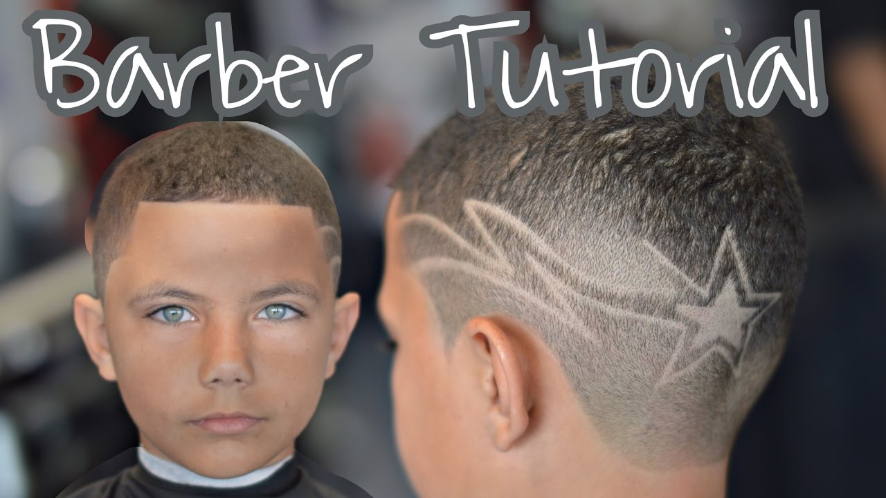 kids haircut with hair
