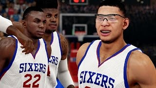 NBA 2K15 76ers MyGM #3 - Isaiah Austin Gets His Shot In The NBA!