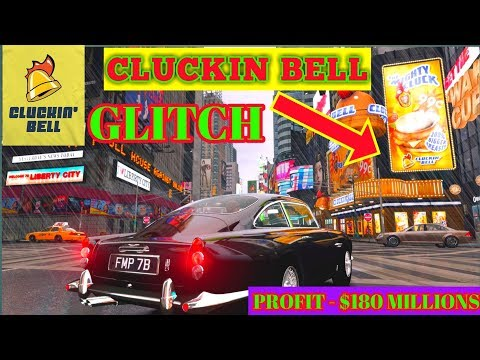 Gta 5 CLUCKIN BELL Stock Glitch ( Million dollars INN ) huge Money maker