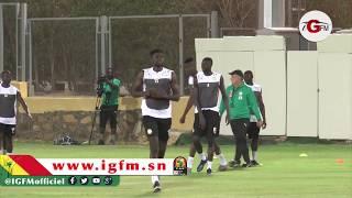 CAN 2019 : Alfred Ndiaye tente de revenir difficilement avant la finale