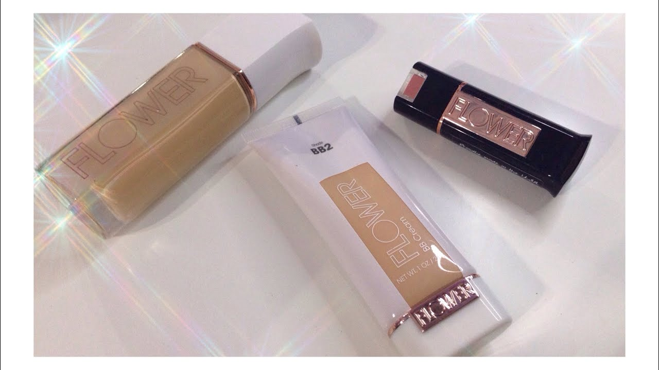 First Impressions Flower Beauty About Face Foundation Lipstick