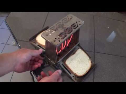 American Made! No Chinese junk! This vintage toaster toasts just like new after 80 years!