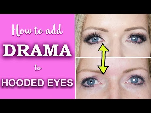 How to Add Drama to Hooded Eyes to Make them Look Bigger : M