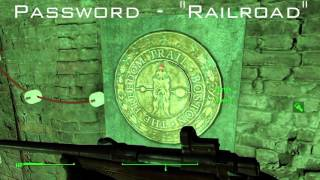 "Fallout 4 - Road To Freedom Password ""Railroad"""