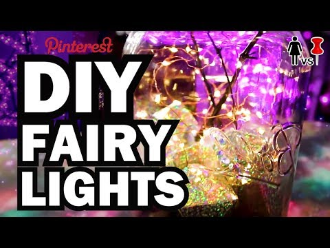 DIY Fairy Lights, Corinne VS Pins FAIRY EDITION