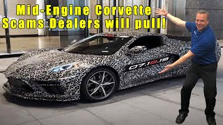 3 SCAMS dealerships MAY pull on you when the 2020 Corvette C8 Mid-Engine can be ordered