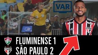 Gambar cover FLUMINENSE 1X2 SÃO PAULO - KINGNALDO VOLTOU? VITÓRIA IMPORTANTE MAS DESEMPENHO AINDA PREOCUPA!