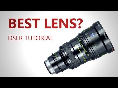 DSLR Tutorial: The best Lens