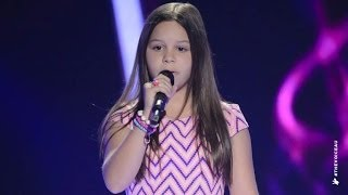 Romy Sings Turning Tables | The Voice Kids Australia 2014