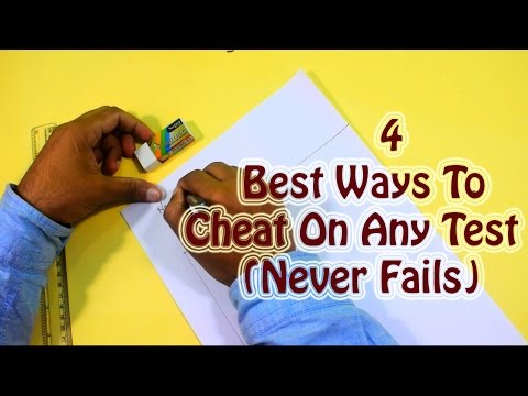 How to cheat in exam | 4 best ways to cheat on any test,simple and easy  PART 1