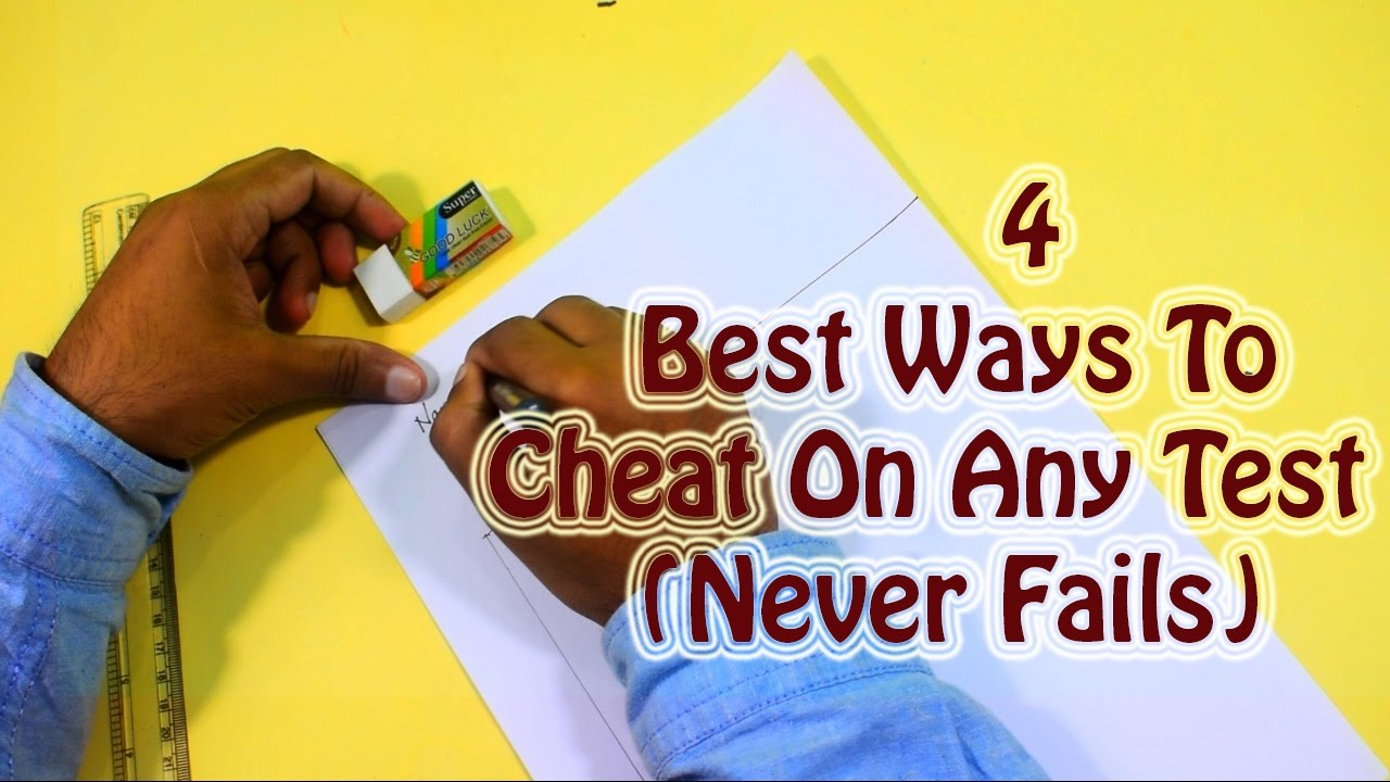 best way to cheat in exam