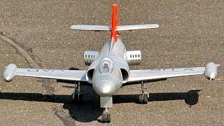 FFA P-16 MK III RC SCALE MODEL EDF JET FLIGHT DEMONSTRATION / Jetpower Messe 2015