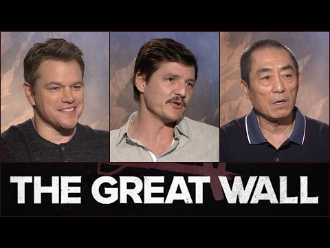 Sit Down With the Stars: The Great Wall – Regal Cinemas [HD]