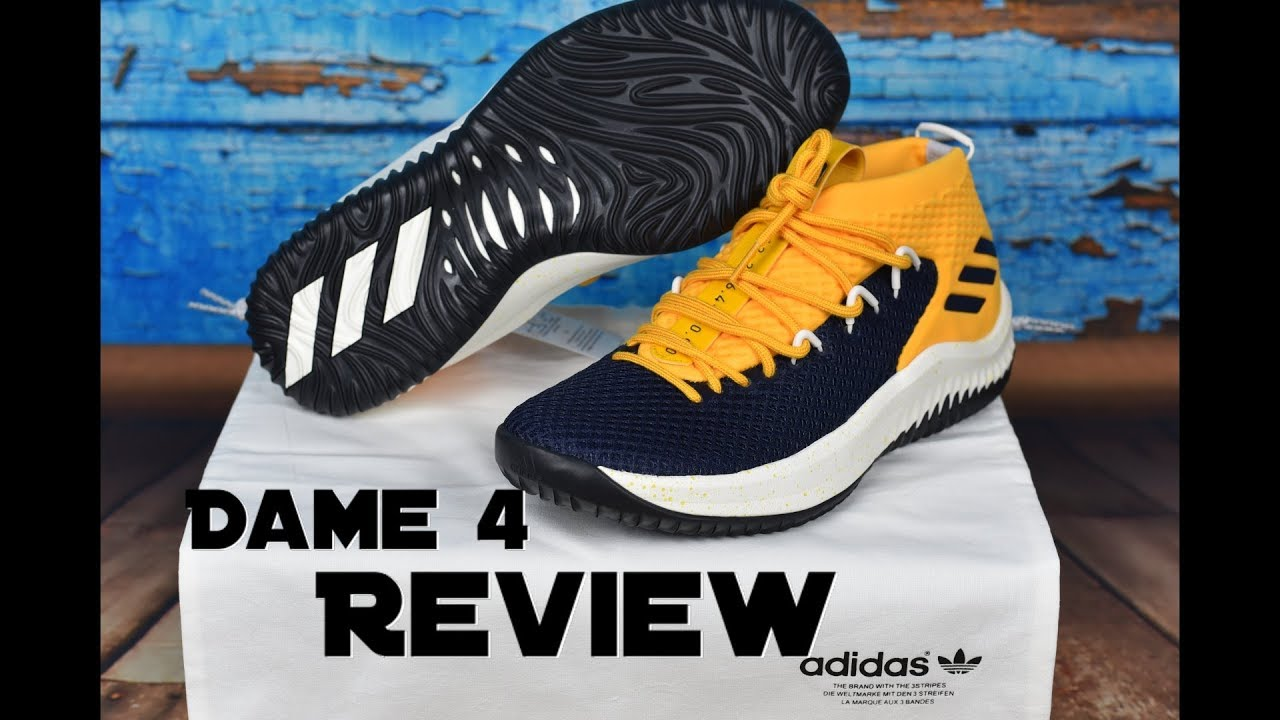 Adidas Dame 4 - MiAdidas - Performance Review - YouTube 952881834