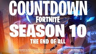 Fortnite Saison 10 Countdown Live (fr) How Long Until Fortnite Saison 10 Battle Pass Release Trailer