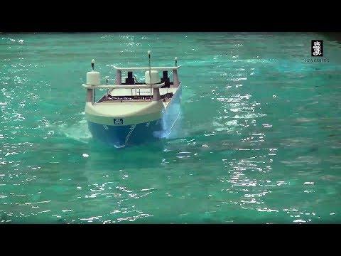 Autonomous ship model tank testing