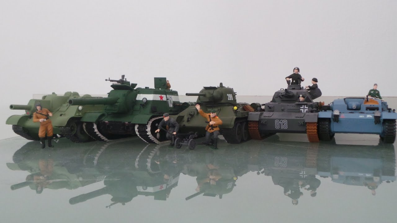 ✄ Сборные модели. Британский средний танк Матильда II (Звезда .
