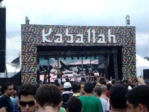 1200 MICS Live band @ Kaballah & Orbital 20/03/2010  Fazenda Maeda ITU - SP PART 4