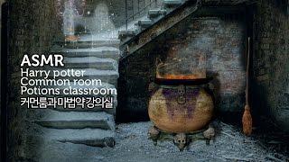 ASMR 해리 포터 롤플레이 2화 폴리 주스 포션 만들기 | Harry potter common room & potions classroom Role play