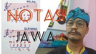 Notasi JAWA - PELOG DAN SLENDRO piano Vlog