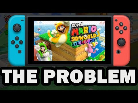 The Super Mario 3D World Deluxe Problem!!! (Nintendo Trolling Us)