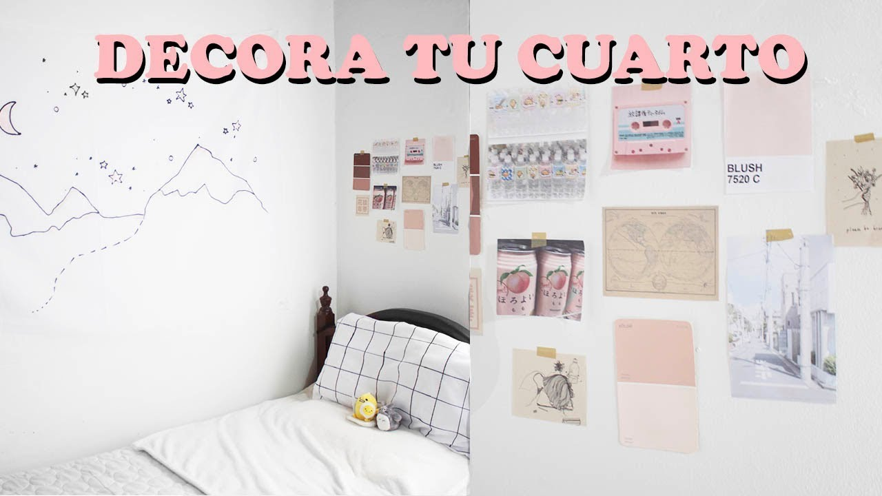 Decora tu cuarto minimalista pastel tumblr aesthetic for Cuartos decorados kawaii