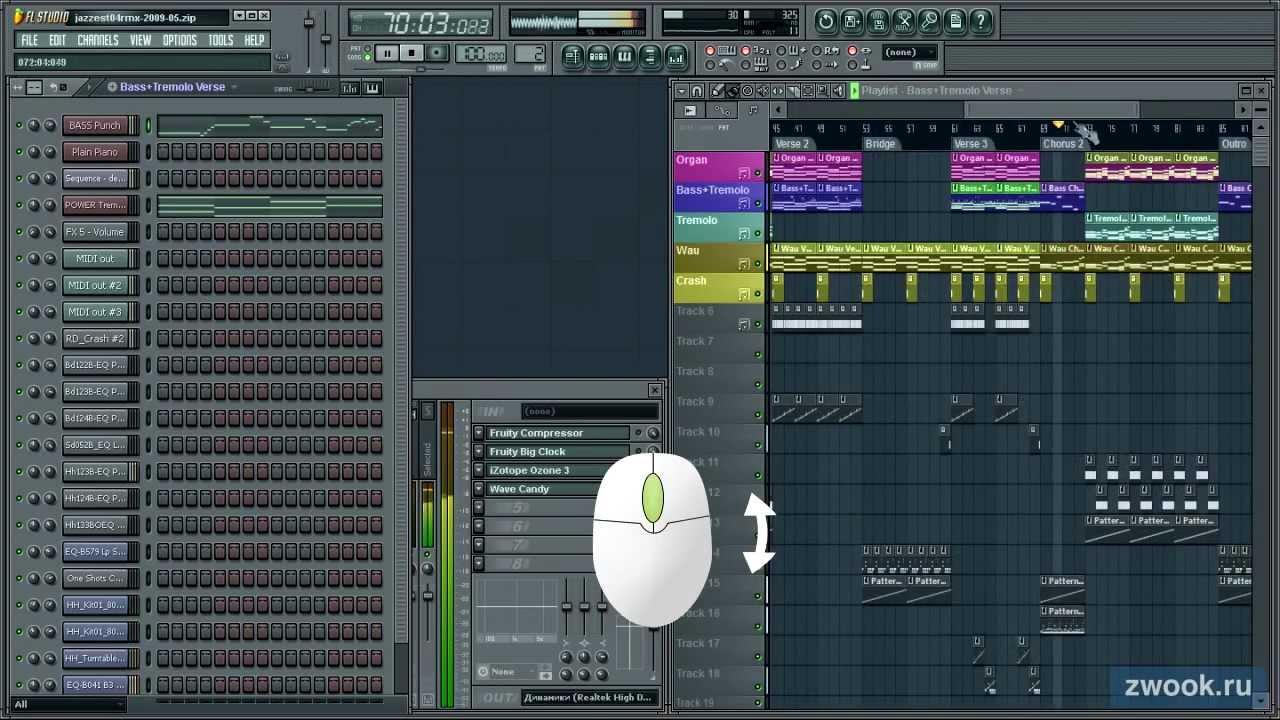 знакомство с fl studio
