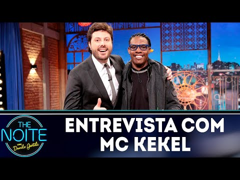 Entrevista com MC Kekel | The Noite (29/08/18)