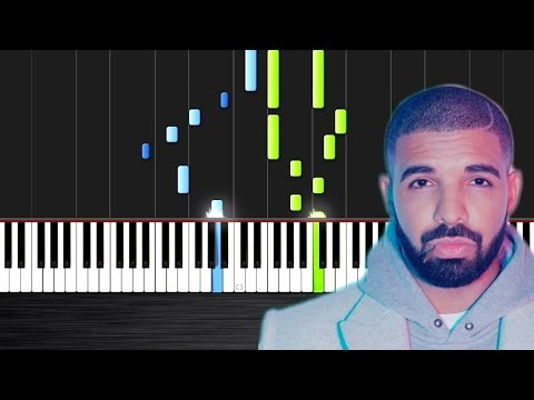 Drake - Hotline Bling - Piano Cover/Tutorial by PlutaX - Synthesia