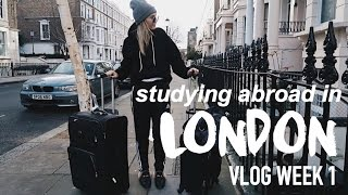 London Vlog | My First Week Studying Abroad!