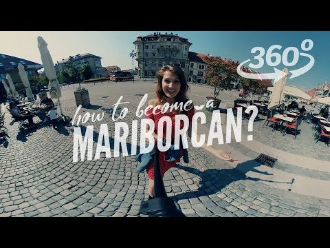 [360°/ VR Video] Virtual guided tour of Maribor