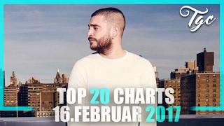 TOP 20 SINGLE CHARTS - 16. FEBRUAR 2017