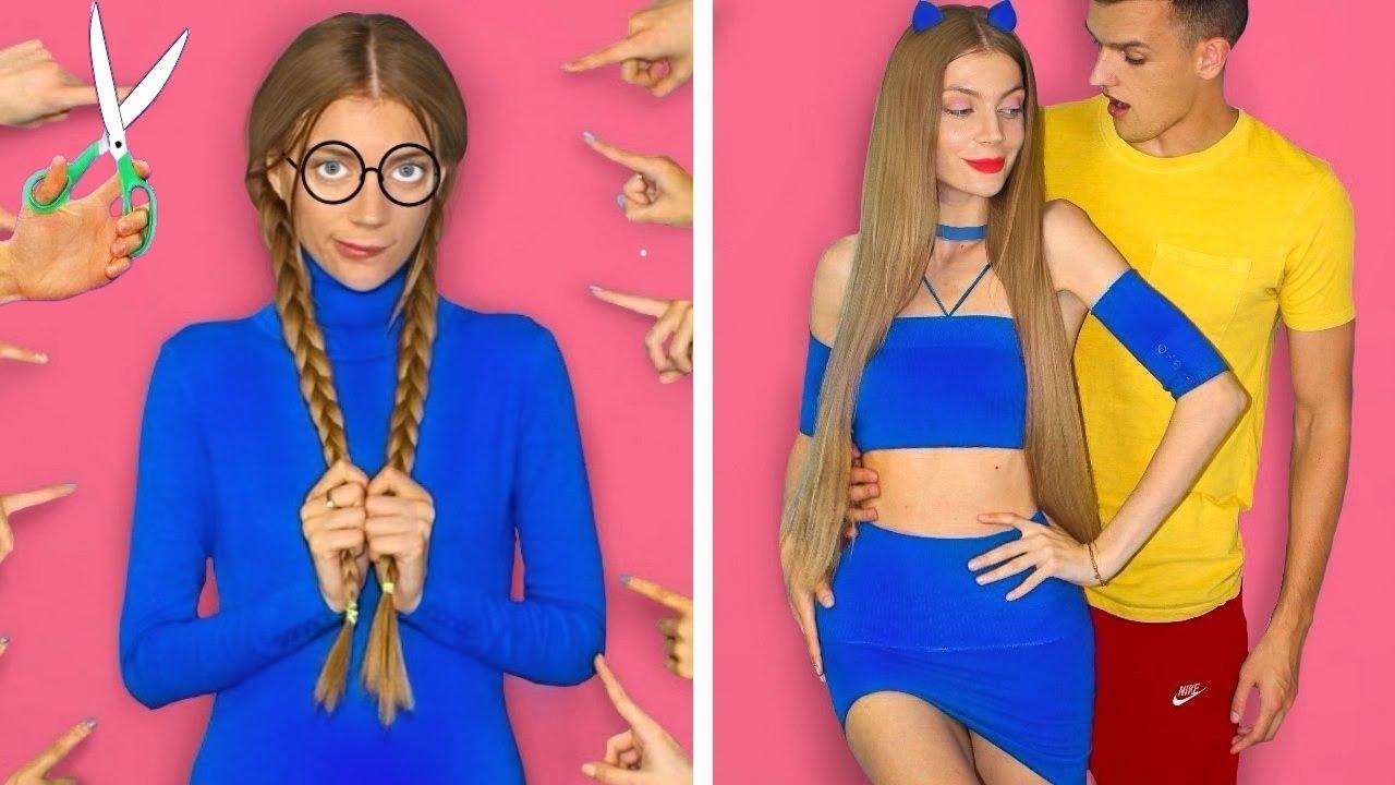 DIY Girls Hacks! 5 Simple DIY Clothing And Fashion Hack Ideas Mariana ZD