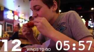 """Buffalo Wild Wings """"blazin' Wing Challenge"""""""