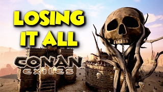 STARTING AGAIN...  -  Conan Exiles - ft. maxmoefoegames