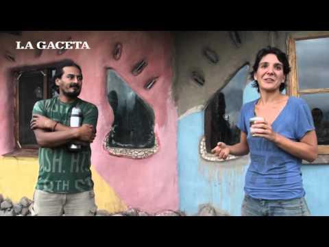 Bioconstrucción: del barro hicieron su casa y una forma de vida