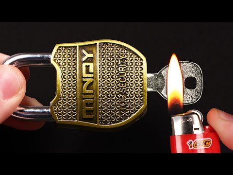 5 CRAZY WAYS TO OPEN A LOCK